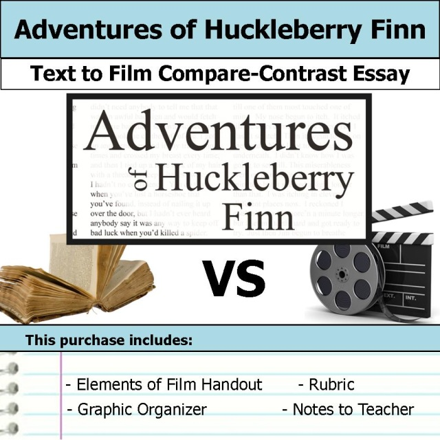 a comparison and contrast of the adventures of huckleberry finn Who is the foil in mark twain's adventures of huckleberry finn we have the  answers here, plus lots more.
